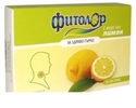 ФИТОЛОР ПАСТИЛИ  МЕД И ЛИМОН  18 бр. Fitolor herbal lozenges Honey and Lemon