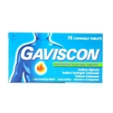 ГАВИСКОН  дъвчащи  табл. 16  GAVISCON PEPPERMINT TABLETS