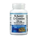 N-АЦЕТИЛ L-ЦИСТЕИН 500 mg 90 вег.капс. Natural Factors N-Acetyl L-Cysteine