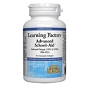 Лърнинг факторс 556 mg 90 дъвчащи софтгел капс. Learning Factors Advanced School-Aid