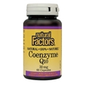 КОЕНЗИМ Q10 30 mg 60 капс. Natural Factors Coenzyme Q10