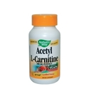 АЦЕТИЛ L-КАРНИТИН 500 mg 60 вег.капс. Nature's Way Acetyl L-Carnitine