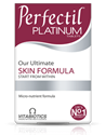 Активна формула за борба с белезите на стареене 60 табл. Vitabiotics Perfectil Platinum