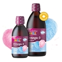 Oмега 3 1500 mg + Витамин D3 400 IU за деца 250 ml Sea licious Kids