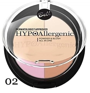 Пудра & Руж 11 g Bell HYPOAllergenic Powder & Blush all in one 02