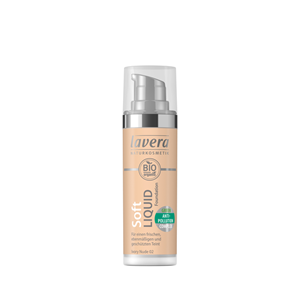 БИО ФОН ДЬО ТЕН ФЛУИД 30 ml LAVERA SOFT LIQUID FOUNDATION IVORY NUDE 02