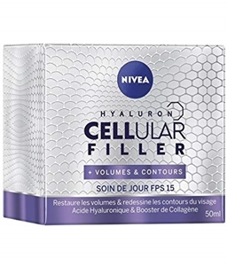ДНЕВЕН КРЕМ ПРОТИВ БРЪЧКИ ЗА ОБЕМ  50 ml  NIVEA CELLULAR HYALURON FILLER VOLUME CONTOUR DAY CREAM