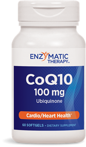 Коензим Q10 100 mg Убиквинон 60 софтгел капс. Nature's Way CoQ10