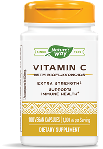ВИТАМИН С & БИОФЛАВОНИ 1000 mg 100 kапс. Nature's Way Vitamin C  Bioflavonoids