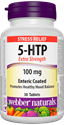 5-ХИДРОКСИТРИПТОФАН 100 mg  30 капл. Webber Naturals 5-HTP Extra Strength Enteric Coated