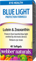ФОРМУЛА ЗА ОЧИ С ЛУТЕИН И ЗЕАКСАНТИН  40 софтгел капс. Webber Naturals Blue Light Protection Formula Lutein & Zeaxanthin