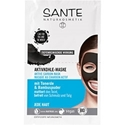 БИО МАСКА С АКТИВЕН ВЪГЛЕН 2x4ml SANTE Active Carbon Mask