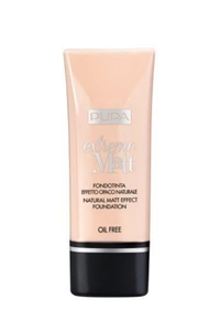 МАТИРАЩ ФОН ДЬО ТЕН  ПОРЦЕЛАН 30 ml PUPA EXREME MATT NATURAL MATT EFFECT FONDATION 010 PORCELAIN