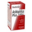 АЦИДОФИЛУС ПЛЮС 60 kaпс. HealthAid Acidophilus Plus 4 Billion