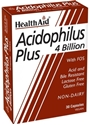 АЦИДОФИЛУС ПЛЮС 30 kaпс. HealthAid Acidophilus Plus 4 Billion