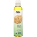 БИО СУСАМОВО МАСЛО 237 ml NOW  Solutions Sesame Seed Oil Organic